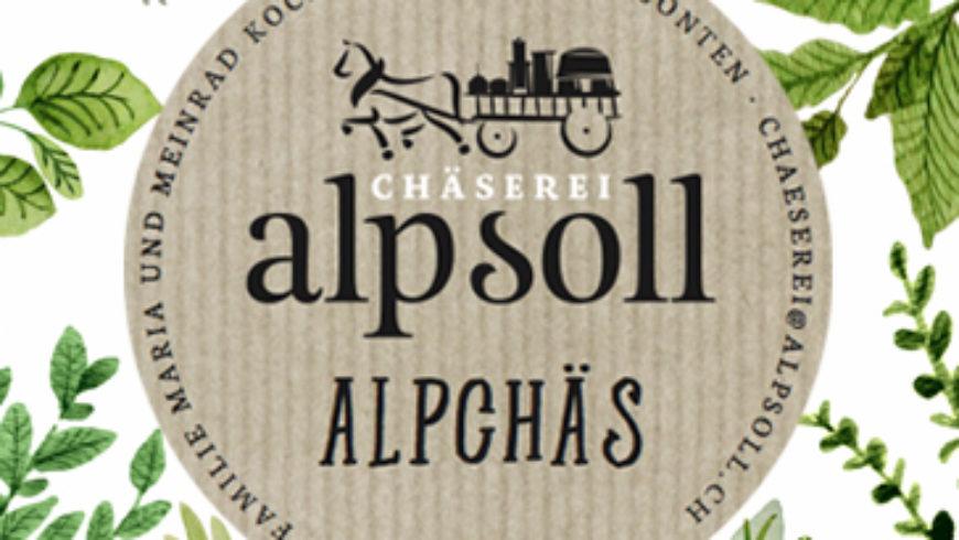 Alp Soll Alpsommer Chäs